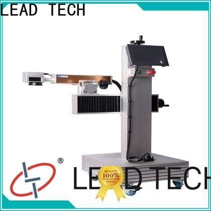 LEAD TECH handheld laser etching machine Supply for daily chemical industry printing