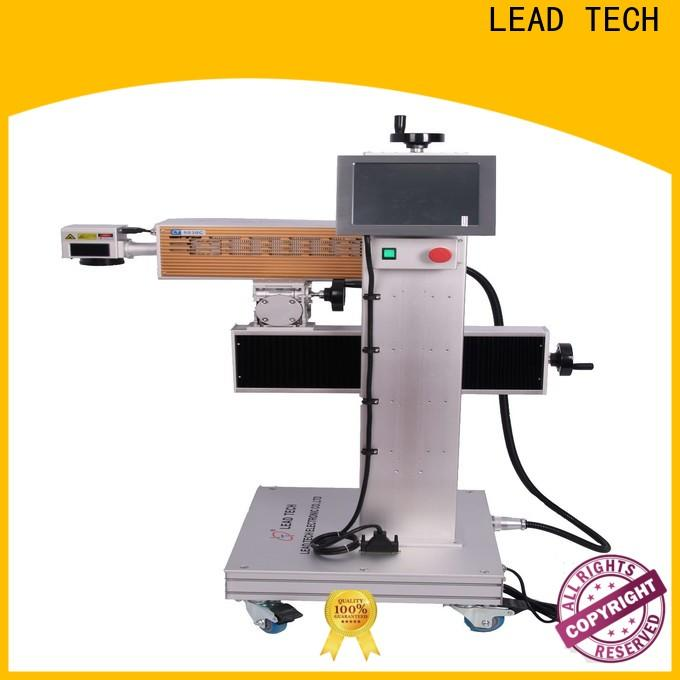 aluminum structure uv laser marking machine high-performance for daily chemical industry printing