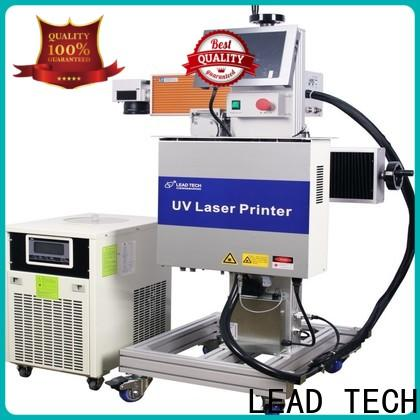 LEAD TECH buy laser marking machine promotional for drugs industry printing