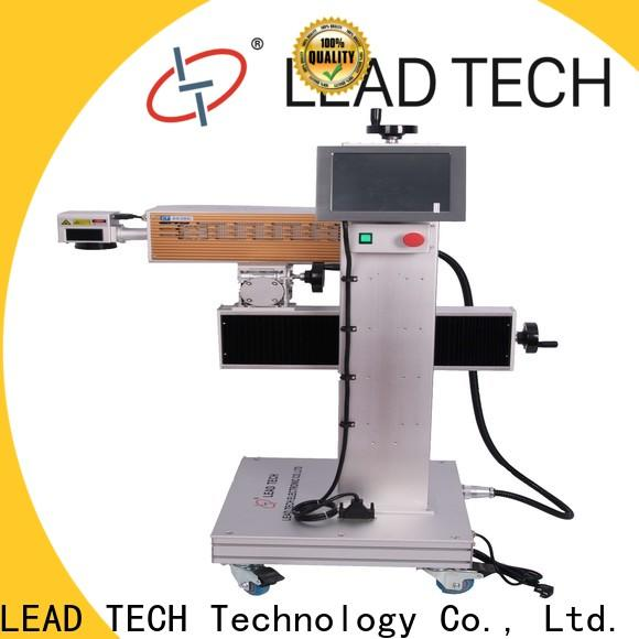 LEAD TECH 3d laser marking machine high-performance for beverage industry printing