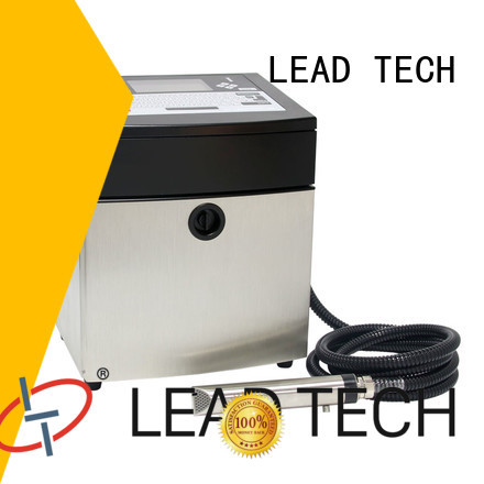 LEAD TECH inkjet date code printer custom from best fatcory