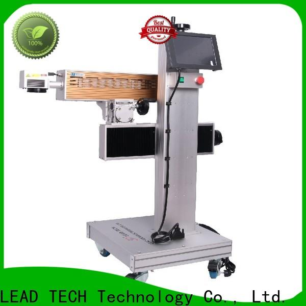 LEAD TECH commercial lasit easy-operated for tobacco industry printing