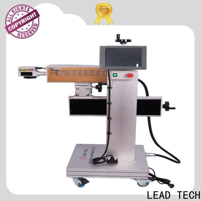 LEAD TECH handheld laser marker for business for building materials printing