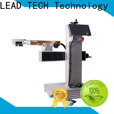 LEAD TECH 3d fiber laser marking machine company for daily chemical industry printing