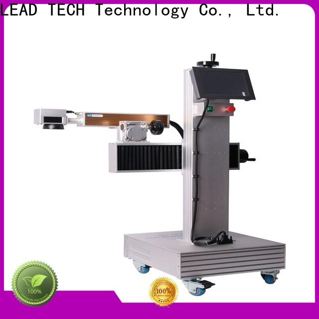 LEAD TECH laser marking machine supplier easy-operated for drugs industry printing