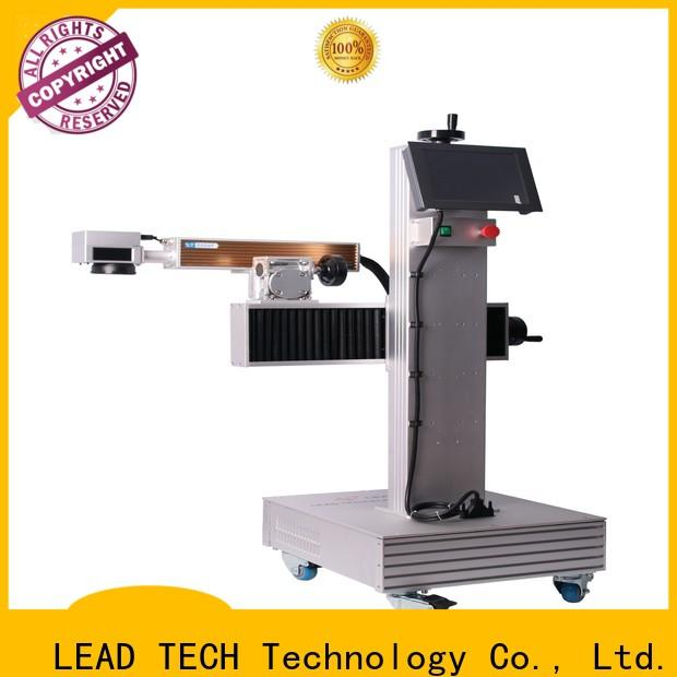 LEAD TECH laser etching machine for cups promotional for pipe printing