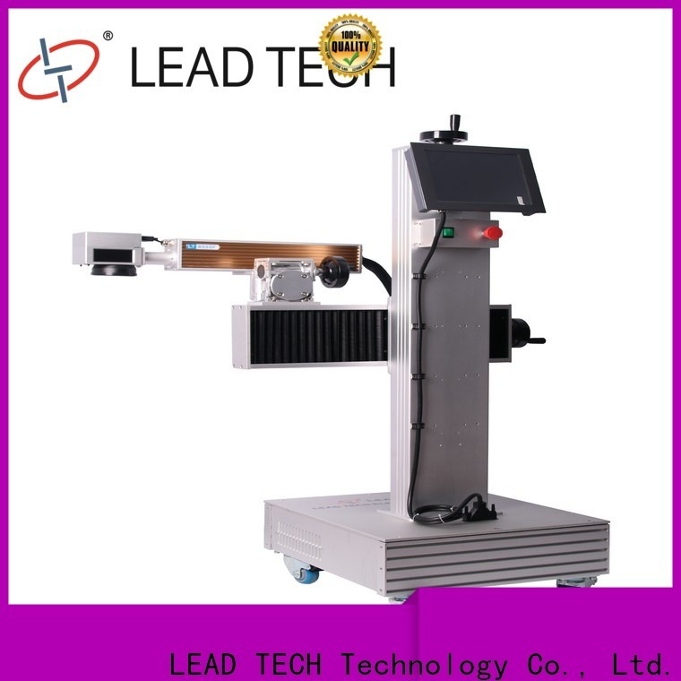LEAD TECH Custom plastic etching machine high-performance for auto parts printing