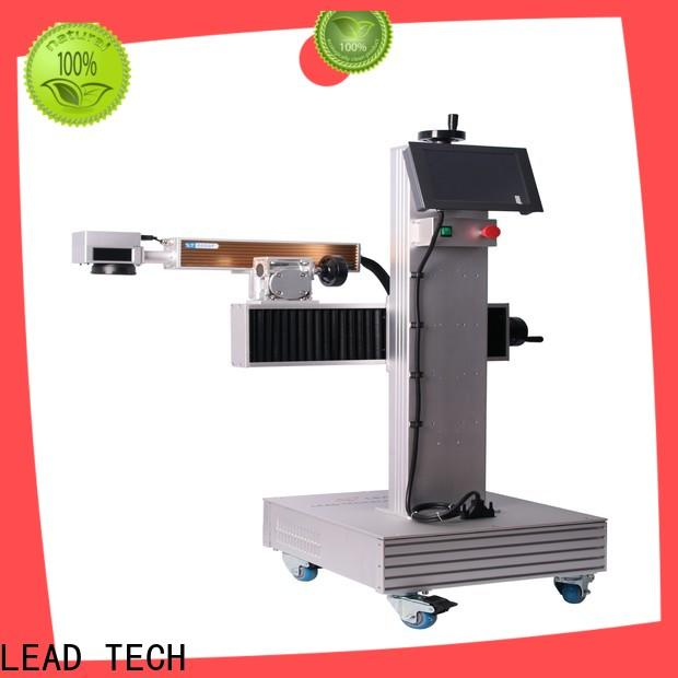 laser printing machine on plastic promotional for food industry printing