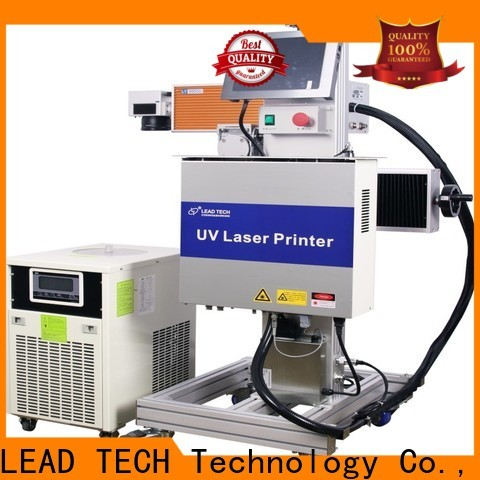 LEAD TECH portable laser marking machine Supply for beverage industry printing