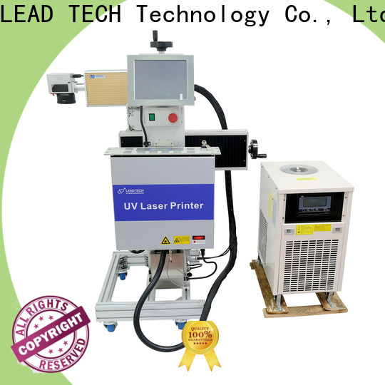 LEAD TECH desktop laser etching machine Supply for daily chemical industry printing