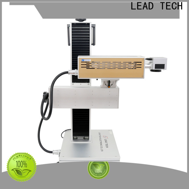 LEAD TECH Best co2 laser machine factory for building materials printing