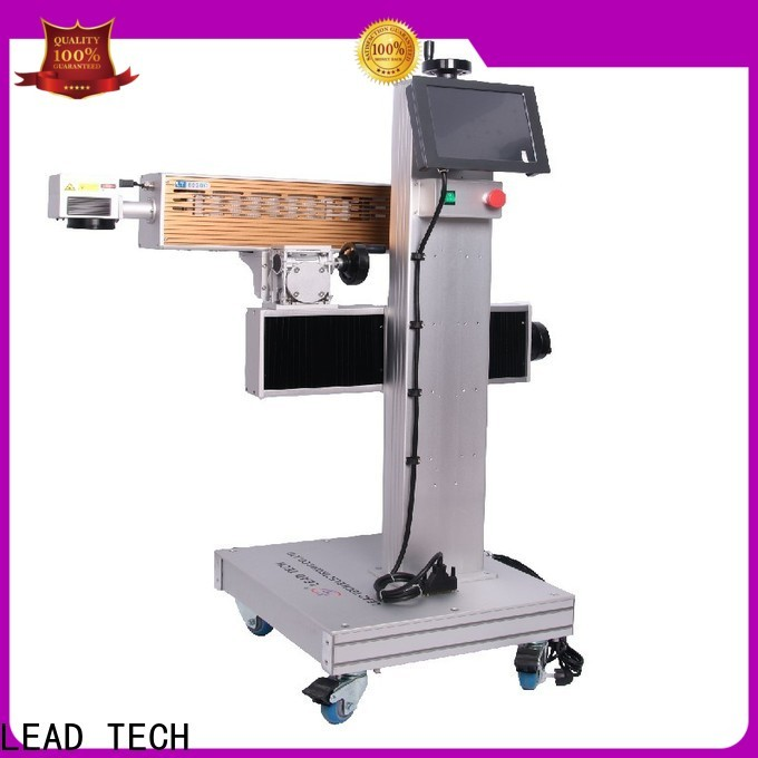 LEAD TECH Custom stainless steel laser etching machine manufacturers for auto parts printing