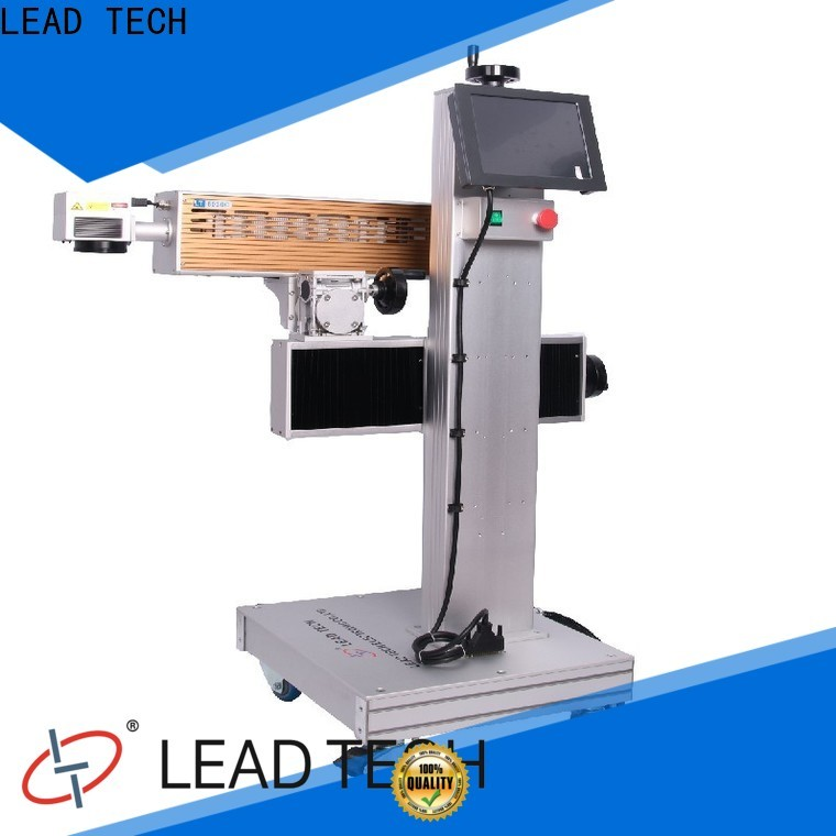 LEAD TECH diode laser marking machine fast-speed for food industry printing