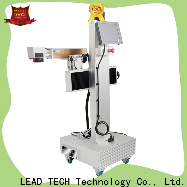 LEAD TECH industrial laser marking machine company for drugs industry printing