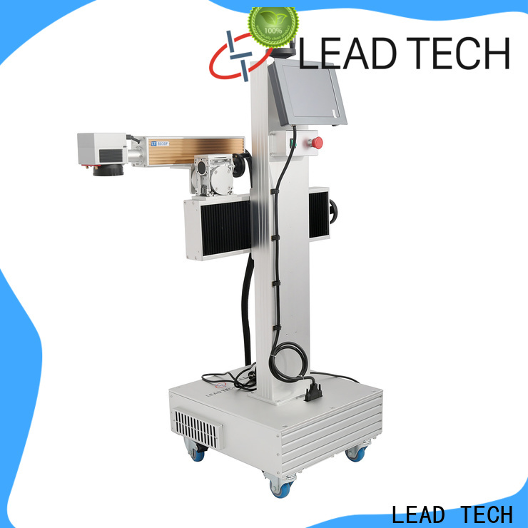 LEAD TECH mini laser marking machine for business for pipe printing