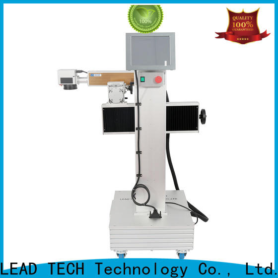 LEAD TECH mini laser etching machine company for auto parts printing