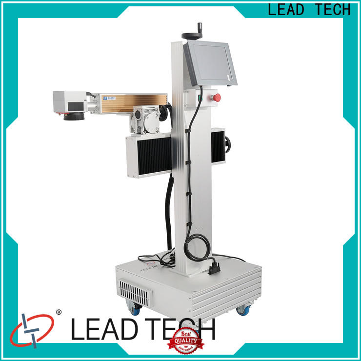 LEAD TECH Custom laser marking machine in india fast-speed for food industry printing