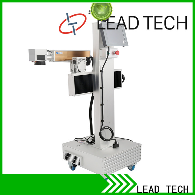 LEAD TECH aluminum structure coding printer high-performance for auto parts printing