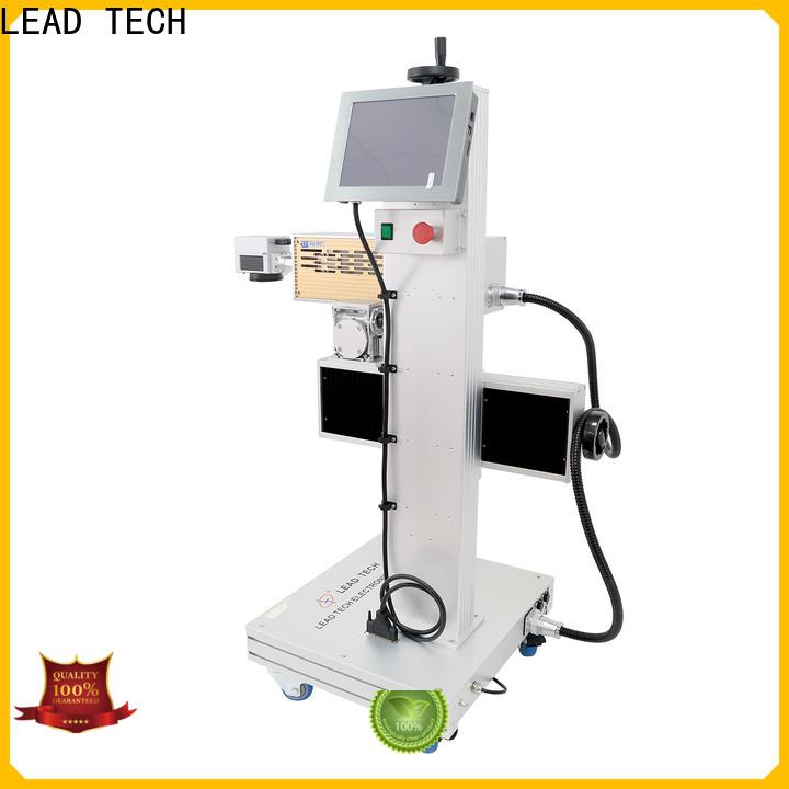 LEAD TECH mini laser machine company for auto parts printing