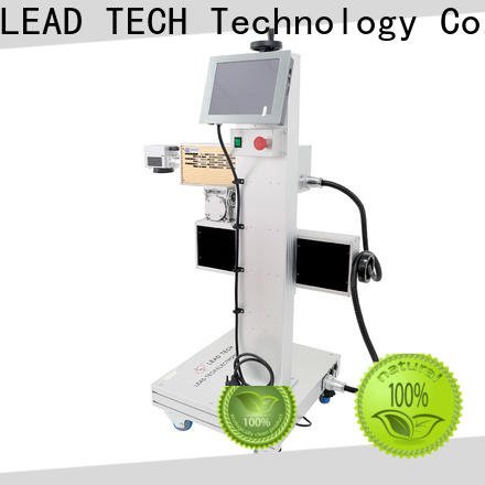 LEAD TECH small laser marking machine high-performance for pipe printing