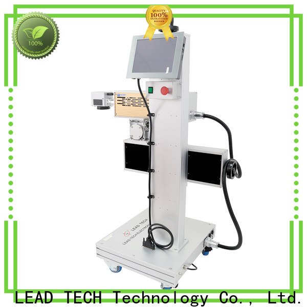 water cooling structure laser marking machine price list company for tobacco industry printing