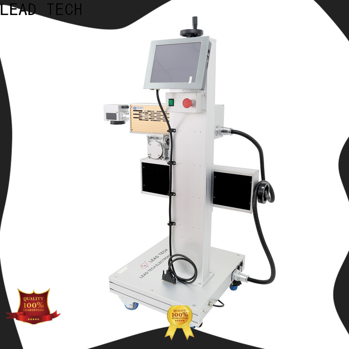 LEAD TECH co2 laser marking machine easy-operated for drugs industry printing