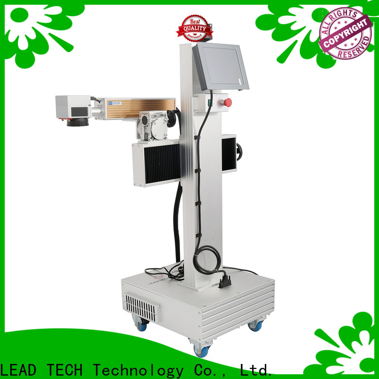 LEAD TECH 3d fiber laser marking machine manufacturers for daily chemical industry printing