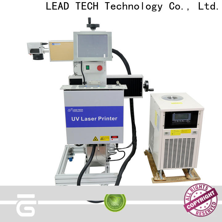 LEAD TECH laser etching steel high-performance for auto parts printing