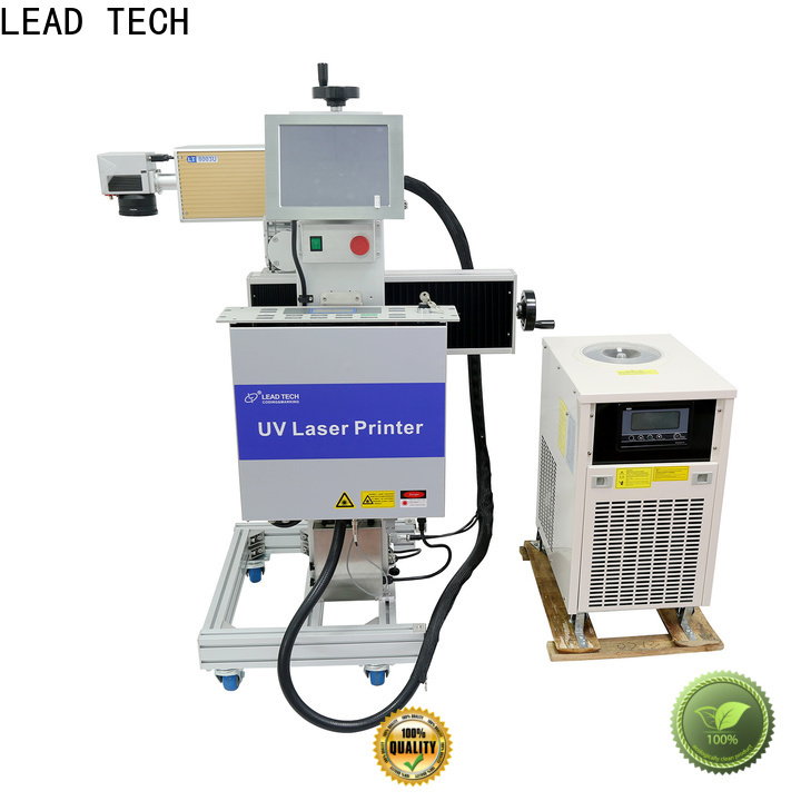 LEAD TECH co2 laser marking machine price promotional for pipe printing