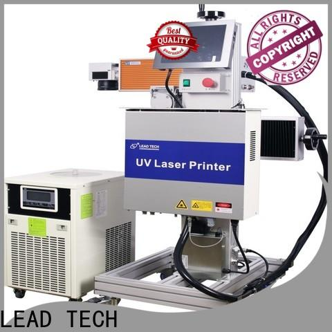 LEAD TECH dustproof laser marking spray manufacturers for pipe printing