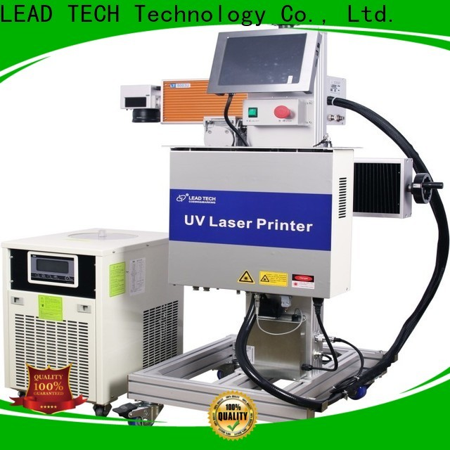 LEAD TECH New laser logo high-performance for daily chemical industry printing