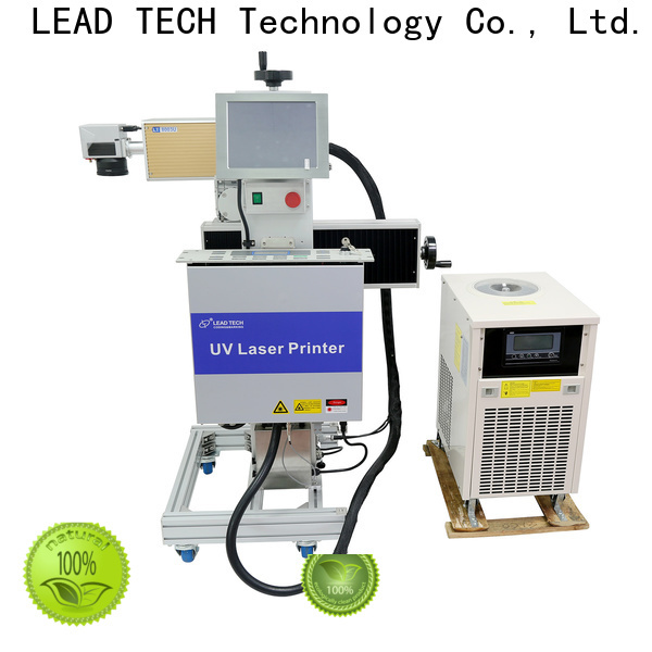 LEAD TECH diode laser marking machine manufacturers for daily chemical industry printing