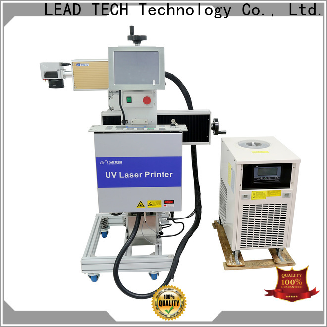 LEAD TECH laser marker price for business for building materials printing