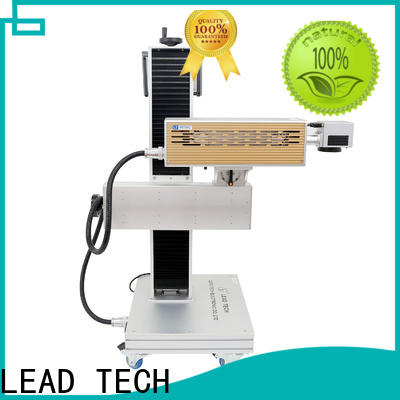 LEAD TECH High-quality laser printing on metal surface high-performance for daily chemical industry printing
