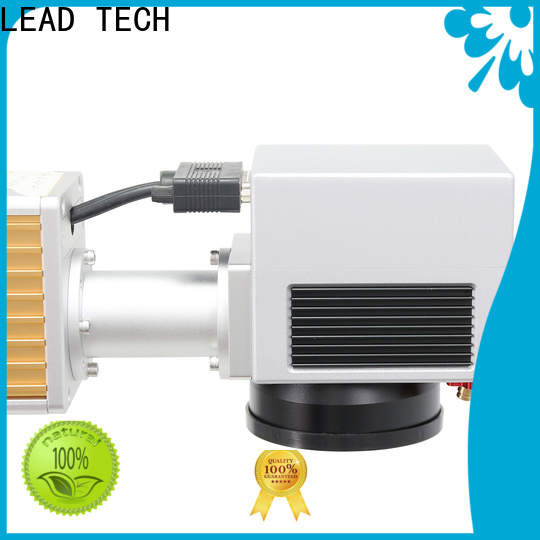 LEAD TECH desktop laser etching machine for business for food industry printing