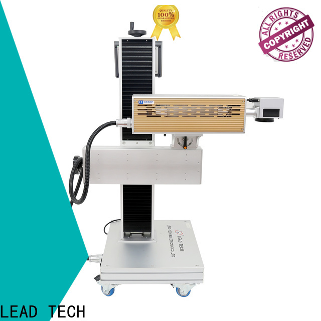 LEAD TECH Top laser coding for business for beverage industry printing