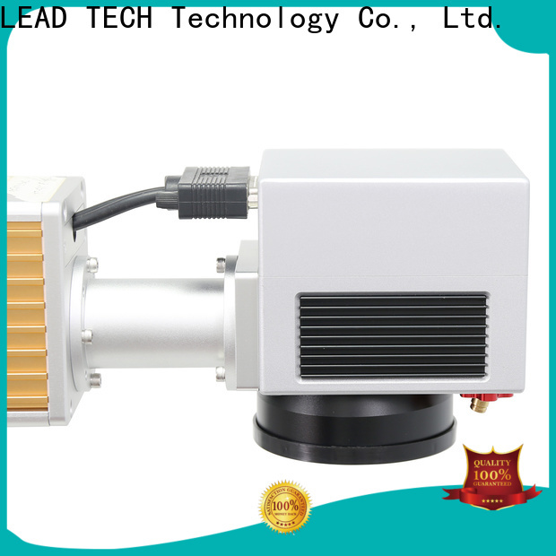 LEAD TECH laser printing machine price high-performance for auto parts printing
