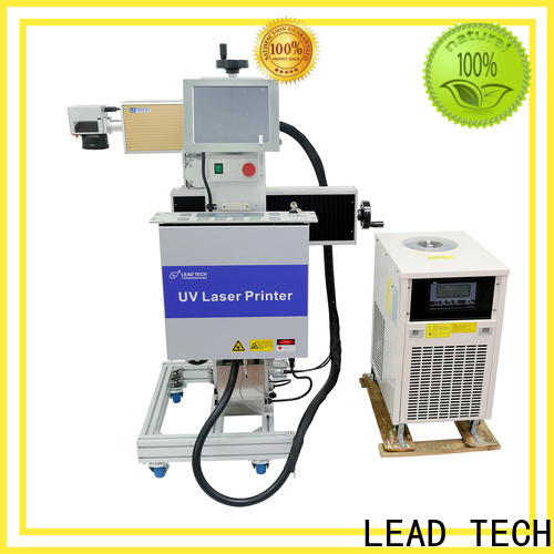 LEAD TECH Best laser marking system manufacturers Supply for daily chemical industry printing