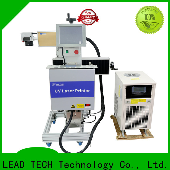 LEAD TECH aluminum structure color laser marking fast-speed for building materials printing