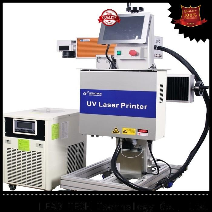 LEAD TECH co2 laser etching manufacturers for beverage industry printing