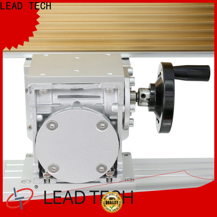 LEAD TECH acrylic etching machine high-performance for drugs industry printing