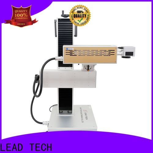 LEAD TECH dot peen marking machine fast-speed for tobacco industry printing