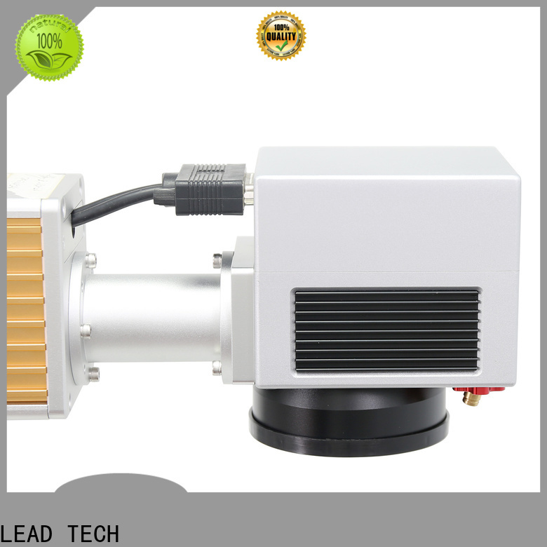 LEAD TECH laser marking machine working principle manufacturers for tobacco industry printing