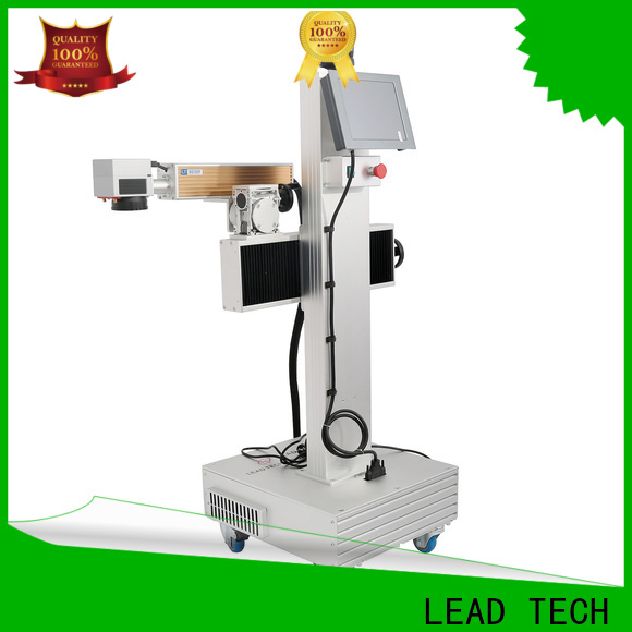 LEAD TECH Wholesale colour laser marking machine high-performance for food industry printing