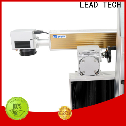 LEAD TECH laser coding easy-operated for pipe printing