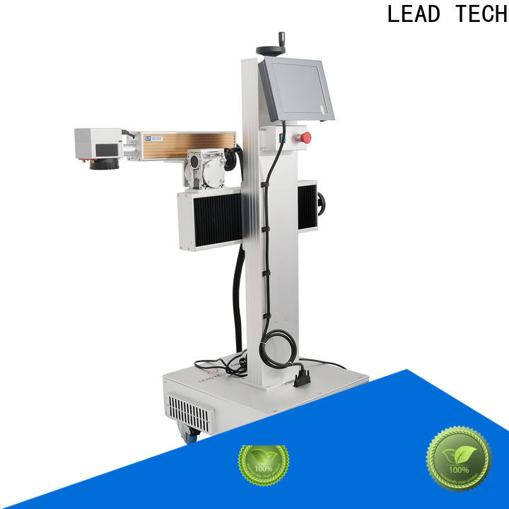 LEAD TECH water cooling structure part marking machine company for building materials printing