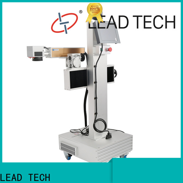 LEAD TECH professional laser machine fast-speed for drugs industry printing