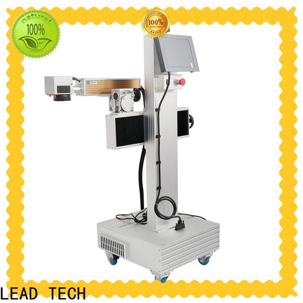 Latest 3d fiber laser marking machine company for beverage industry printing