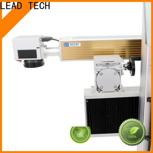 LEAD TECH laser marking machine fast-speed for drugs industry printing