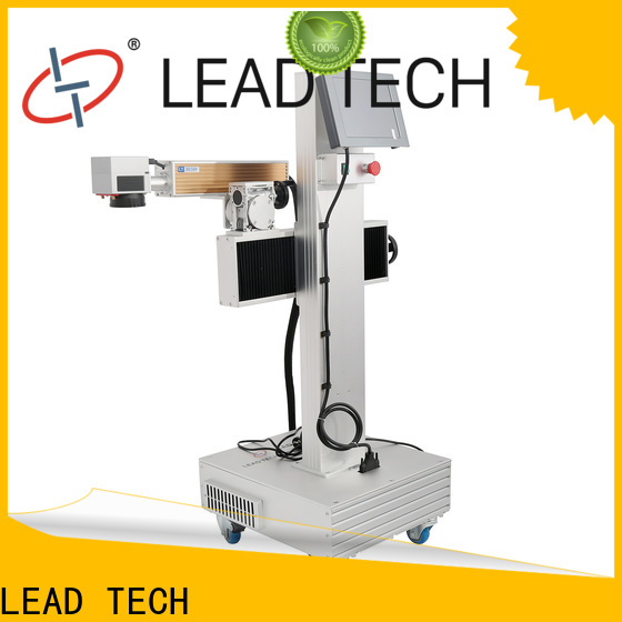 LEAD TECH fiber laser etching machine manufacturers for drugs industry printing